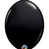 "Qualatex 12"" Onyx Black Quick Link Balloons"