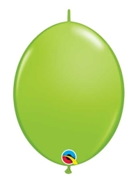 "Qualatex 12"" Lime Green Quick Link Balloons"
