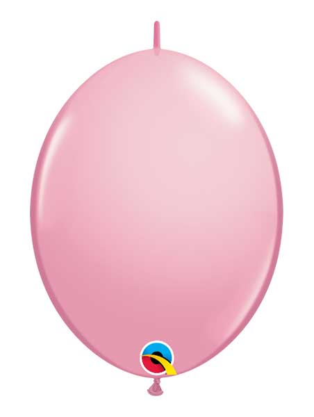 "Qualatex 12"" Pink Quick Link Balloons"