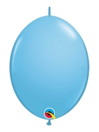"Qualatex 12"" Pale Blue Quick Link Balloons"