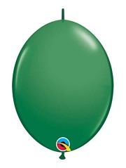 "Qualatex 12"" Green Quick Link Balloons"
