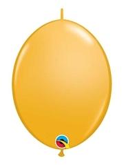 "Qualatex 12"" Goldenrod Quick Link Balloons"