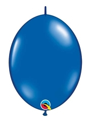 "Qualatex 12"" Sapphire Blue Quick Link Balloons"