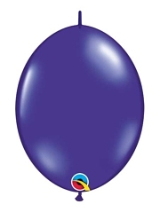 "Qualatex 12"" Quartz Purple Quick Link Balloons"
