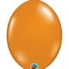 "Qualatex 12"" Mandarin Orange Quick Link Balloons"