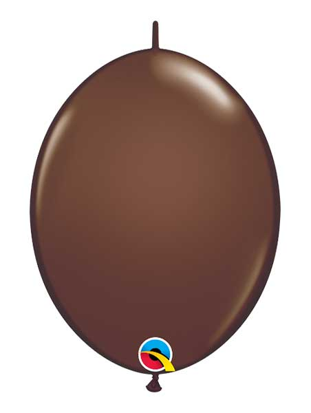 """Qualatex 12"""" Chocolate Brown Quick Link Balloons"""