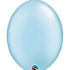 "Qualatex 12"" Pearl Light Blue Quick Link Balloons"