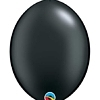 "Qualatex 12"" Pearl Onyx Black Quick Link Balloons"