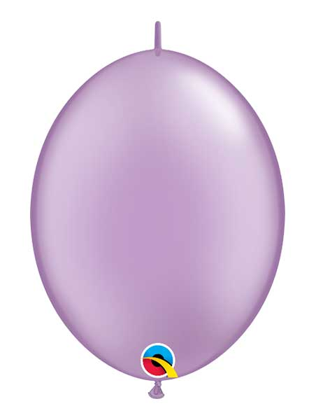 "Qualatex 12"" Pearl Lavender Quick Link Balloons"