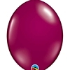"Qualatex 12"" Sparkling Burgundy Quick Link Balloons"