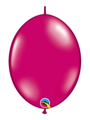 "Qualatex 12"" Jewel Magenta Quick Link Balloons"