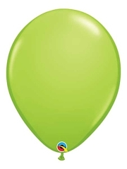 "Qualatex 16"" Lime Green Latex Balloons"