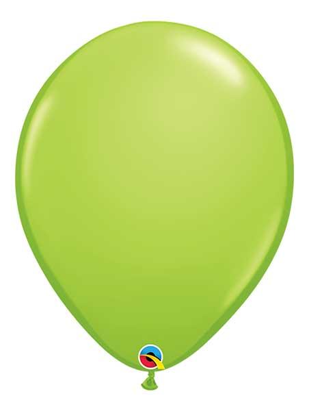 "Qualatex 16"" Lime Green Latex Balloons"