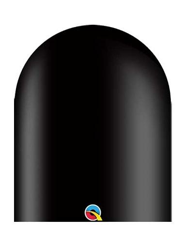 Qualatex 646q Onyx Black Twister Balloons