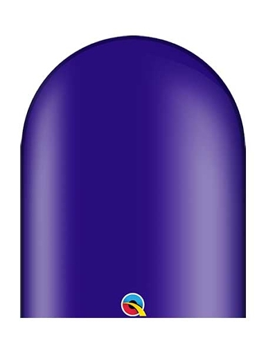 Qualatex 646q Quartz Purple Twister Balloons