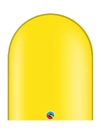 Qualatex 646q Citrine Yellow Twisting Balloons