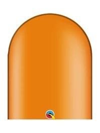 Qualatex 646q Mandarin Orange Twister Balloons