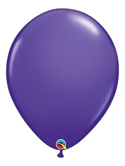 "Qualtex 16"" Purple Violet Latex Balloons"