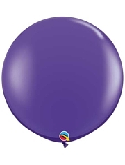 "Qualatex 36"" Purple Violet Latex Balloons"