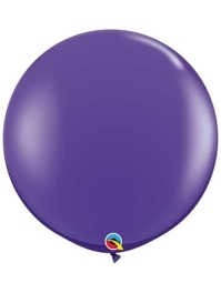 "Qualatex 36"" Purple Violet Latex Balloons"