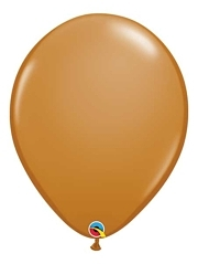 "Qualatex 16"" Mocha Brown Latex Balloons"