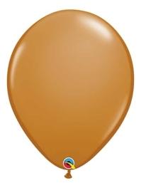 "Qualatex 16"" Mocha Brown Latex Balloons"