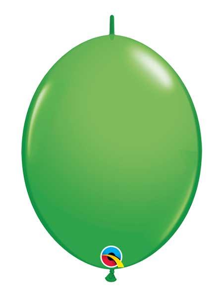 "Qualatex 6"" Spring Green Quicklink Balloons"