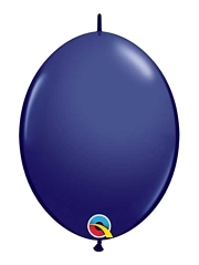 "Qualatex 6"" Navy Blue Quicklink Balloons"