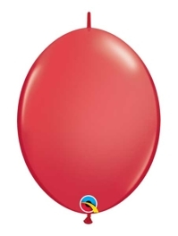 """Qualatex 6"""" Red Quicklink Balloons"""