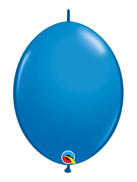 "Qualatex 6"" Dark Blue Quicklink Balloons"
