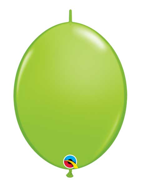 "Qualatex 6"" Lime Green Quicklink Balloons"