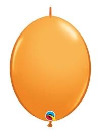 "Qualatex 6"" Orange Quicklink Balloons"