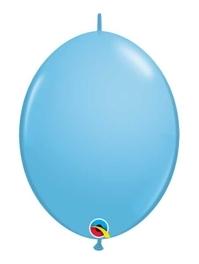 "Qualatex 6"" Pale Blue Quicklink Balloons"