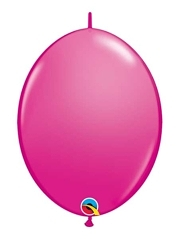 "Qualatex 6"" Wild Berry Quicklink Balloons"
