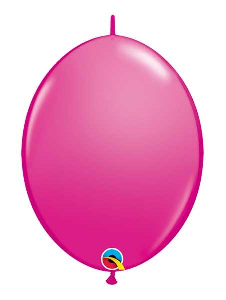 "Qualatex 6"" Wild Berry Quicklink Balloons"