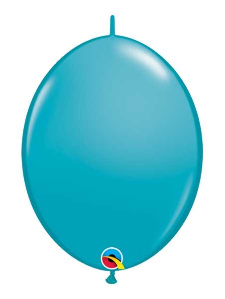 "Qualatex 6"" Tropical Teal Quicklink Balloons"