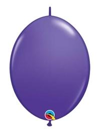 "Qualatex 6"" Pruple Violet Quicklink Balloons"