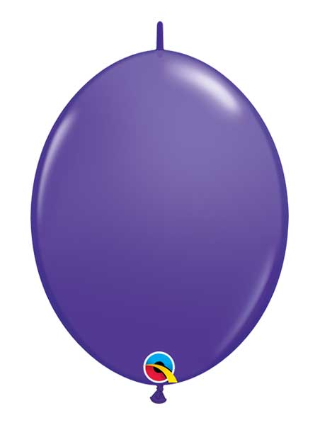 "Qualatex 6"" Pruple Violet Quicklink Balloons"