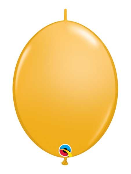 "Qualatex 6"" Goldenrod Quicklink Balloons"