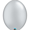"Qualatex 6"" Silver Quicklink Balloons"