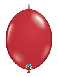 """Qualatex 6"""" Ruby Red Quicklink Balloons"""