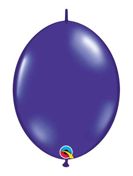 """Qualatex 6"""" Quartz Purple Quicklink Balloons"""