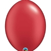 "Qualatex 6"" Pearl Ruby Red Quicklink Balloons"