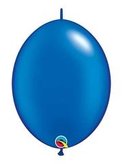 """Qualatex 6"""" Pearl Sapphire Blue Quicklink Balloons"""