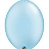 "Qualatex 6"" Pearl Light Blue Quicklink Balloons"