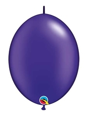 "Qualatex 6"" Quartz Purple Quick Link Balloons"