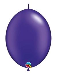 "Qualatex 6"" Quartz Purple Quick Link Balloons"