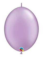 "Qualatex 6"" Pearl Lavender Quicklink Balloons"