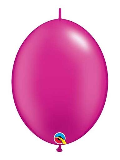 "Qualatex 6"" Pearl Magenta Quicklink Balloons"