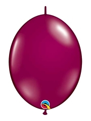 "Qualatex 6"" Sparkling Burgundy Quicklink Balloons"